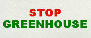Stop The Greenhouse Effect
